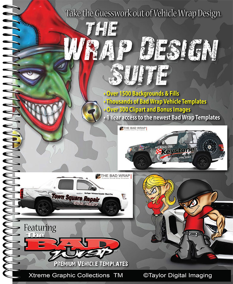 Taylor digital imaging for Car wrap templates free download