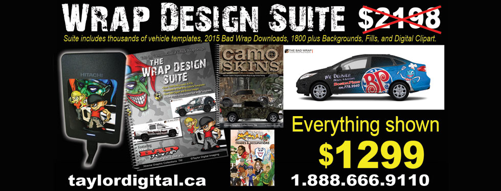 March Special  - Wrap Design Suite -