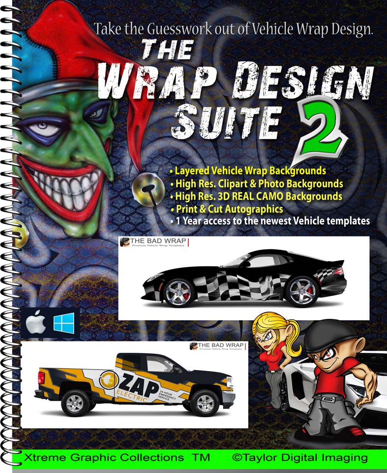 81fd4418c0 This package includes The Bad Wrap templates plus our newest collection of  wraps